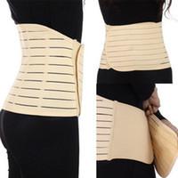 abdominal binder support - 2015 NEW Post Natal Waist Toner Abdominal Binder Support Slimming Stomach Tummy Belt