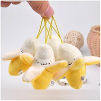 Wholesale Banana doll plush toy small pendant mobile phone