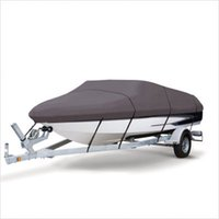 Wholesale Grey Extra Heavy Duty Boat Speedboat Cover ft Waterproof Fish Ski V Hull