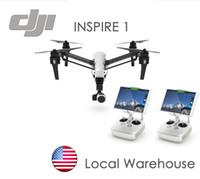 100% original DJI inspire 1 drone Rc avec 4K caméra HD Transformer double contrôle RC Quadcopter RTF hélicoptère avec télécommande TWO