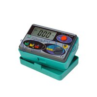 Wholesale earth resistance tester DY4100 Ground resistance measurements from ohm to ohm Data hold with low battery warning C