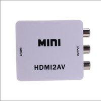 audio pal - CH165 LQFP64 HDMI2AV HDTV Mini Composite Real P HDCP HDMI to RCA Audio FL FR Stereo Video AV CVBS NTSC PAL Adapter Converter
