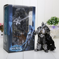 arthas lich king - 18cm Lich King Arthas Death Knight FrostMourne Collection Action Figure Model