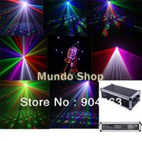 Cheap Wholesale-New Professional 3W RGB multi color laser lights, animation laser show system for DJ Pro disco clubs High speed scanner 30 kpps