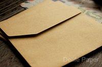 Wholesale 10 x Classic Vintage Brown Kraft Envelopes Plain Blank Envelope For Postcard Or Gift Wrapping x cm