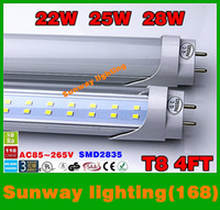 fluorescent bulbs - 4ft led tube W W W Warm Cool White mm ft SMD2835 Super Bright Led Fluorescent Bulbs AC85 V CE SAA CSA UL