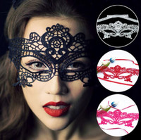 Wholesale Masquerade Lace Mask Halloween Exquisite Lady Half Face Mask Hollow Out Party Wedding Lady Mask Embroidery Sexy Women Mask EEA510