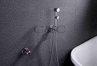 Wholesale Single Handle Thermostatic Chrome Portable Shattaf Bidet Diaper Sprayer A701D