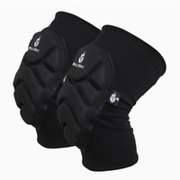 Wholesale New arrival Brand Unisex Outdoor Sport Wrestling Sleeve Knee Pad Protective for Cycling Skating Skiing kneeboss Skateboard knee cap BC314