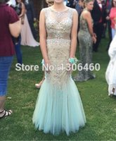 Cheap white and gold prom dress Best evening gown