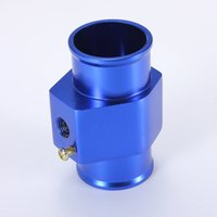 Wholesale Water Temp Temperature Joint Pipe mm Sensor Gauge Radiator Hose Adapter Blue