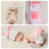 Wholesale Crochet hat Baby Knitting Garment One Hundred Baby Photography Clothing Animal Model Clothes Grils Cosplay Baby Winter Suit Climb Clothes