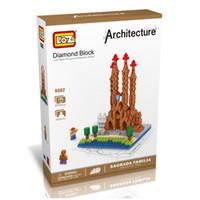 best architecture world - LOZ The La Sagrada Familia Model Nano World Architecture Britain D Diamond Building Blocks Action Figure D Bricks Best Toys For Children