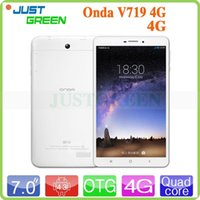 Wholesale 6 inch Onda V719 Android Tablet PC Marvell Quad Core GB RAM GB ROM Dual Camera GPS WIFI G LTE Phone Call