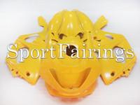 achat en gros de thundercat jaune-Carénages pour Yamaha YZF600R Thundercat 97 98 99 00 01 02 03 04 05 06 07 Kit de carénage complet pour moto ABS Plastic Gloss Yellow Body Fittings