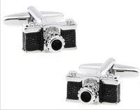 best camera jewelry - Unique Design Camera Cufflinks for mens copper cufflink wedding Cuff Link Fashion Jewelry Best Xmas Gift C053