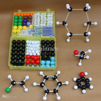 atom chemistry - 267pcs Tau Science Educational Toys Primarch Inorganic Organic Chemistry Atom Molecular Models Links Set Model Assembly Kits