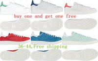 Wholesale NEWest Limited Stan Smith Shoes for men and womens White musial originals Stan Smith Skateboarding Shoes size Drop ship colors