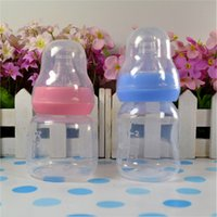 Wholesale 1Pcs ml Small Size Silicone Bottle Baby Feeding Nursing Accessories Eating Milk Safety Standard Mouth