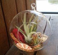 Wholesale Glass globe terrarium kit air plant hanging terrarium hanging wedding candle holder Garden or Home Decor