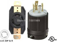 Wholesale UL Listed Generator Power Locking NEMA L14 P R Twist Lock A V P4W