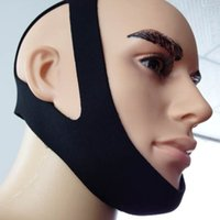 Wholesale Anti Snoring Chin Strap Neoprene Stop Snore Chin Support Belt Anti Apnea Jaw Solution Sleep Device
