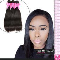 Wholesale 7A Unprocessed Virgin Hair Brazilian Hair Remy Straight Hair Mink Brazilian Hair Straight Virgin Hair Kinky Straight Weave
