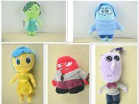 achat en gros de déplacer poupées jouets-MOQ de vente chaude 5 pièces de jouets en peluche 25cm nouvelle de déplacement Inside Out Peluche Poupée de jouets en peluche pour les enfants cadeau de Noël