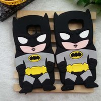 batman cases - iPhone6S D Cartoon Batman Silicone Case For iPhone S Plus Samsung S5 S6 Edge Note5 Grand Prime G530 J1 LG G Pro Lite D680 G3 Stylus D690