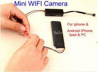 Wholesale DIY Module Mini Spy Wifi Camera Mini Wireless P2P IP Camera Micro Secret Camcorders DVR Cam Spy Covert Candid Video Camera