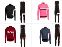 Wholesale Newest winter thermal fleece supper cross jersey and bib tights cycling jacket Road bike clothes GEL Pad set
