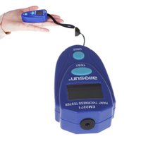 Wholesale Digital LCD Mini Coating Paint Thickness Tester Paint Gauge Meter mm mil