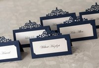 place cards - wedding table card seat card Wedding Decorations Party place card Caio style name card hollow seating cards personalized table cards