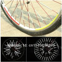 Wholesale New Bike Cycling Bicycle Wheel Spoke Reflector Mount Clip Tube uWXRA