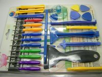 Wholesale DHL in opening tools kit set disassemble repair remove tools for iPhone repair tool