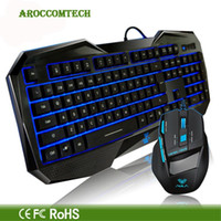 aula killing soul - AULA The Soul Killing Professional Gaming Wired Keyboard Backlight Cool Monieering Mouse For WCG Game Laptop Computer PC