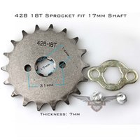 Wholesale Brand New Motorcycle ATV Dirtbike Front Sprocket T mm Size Teeth Drop Shipping
