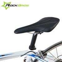 bicycle fibers - ROCKBROS Ultrafine Soft Fibers Cycling Bicycle Saddle Road Bike MTB Saddle Seat Bicicleta Comfortable Saddles Black New Colors