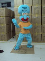 adult cartoons tv - High Quality Squidward Mascot Costume Cartoon Character Holiday or Commercial Activities Supply Adult Size