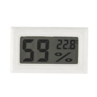Wholesale Mini Digital LCD Indoor Convenient Temperature Sensor Humidity Meter Thermometer Hygrometer Gauge Brand New