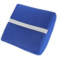 Wholesale emory foam lumbar back Memory Foam Lumbar Back Support Cushion Pillow for Home Car Auto Seat Breathable Removable and Machine Washable Fr