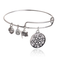 abalone shell bangle - Whole Alex And Ani Bangles Collection Charm Bangles Snowflake Flag Expendable Family Love Letter Bangles Women Lucky Bracelets Holiday Gift