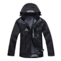 ykk waterproof zipper - Mens Outdoor Jacket in1 Warm Fleece YKK zipper Winter Outerwear Waterproof Coat