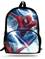 amazing backpacks - inch Mochila Infantil The Amazing SpiderMan Backpack Hero School Bags For Boys D Spiderman Bag Children Schools Age