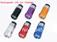 Wholesale Portable LED Mini Car Torch Flashlight Rechargeable Cigarette Lighter Promotional Gifts