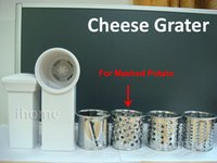 Wholesale 4pcs Set Cheese Grater with special Mashed Potato Cutter Used for Meat Grinder Meat Chopper and Mincer