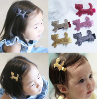 animal things - Cat Hair Slides Baby Hair Accessories Paillette Sequin Barrettes Childrens Accessories Girl Hair Clips Kids Hair Things Lovekiss C21804
