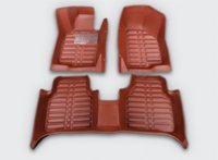 Wholesale Good mats Special floor mats for Volkswagen Touareg durable waterproof leather carpets for Vw Touareg M12799