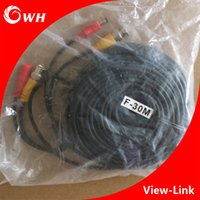 Wholesale CCTV Video and Power Cable BNC DC Cable and DC12V Power DC Connector include BNC cable and Power Supply Cable have M M M