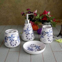 bathroom kit sets - ceramics Sanitary Ware Bathroom products accessories Couples Cup Set European Toiletries Wash kit Wedding gift
